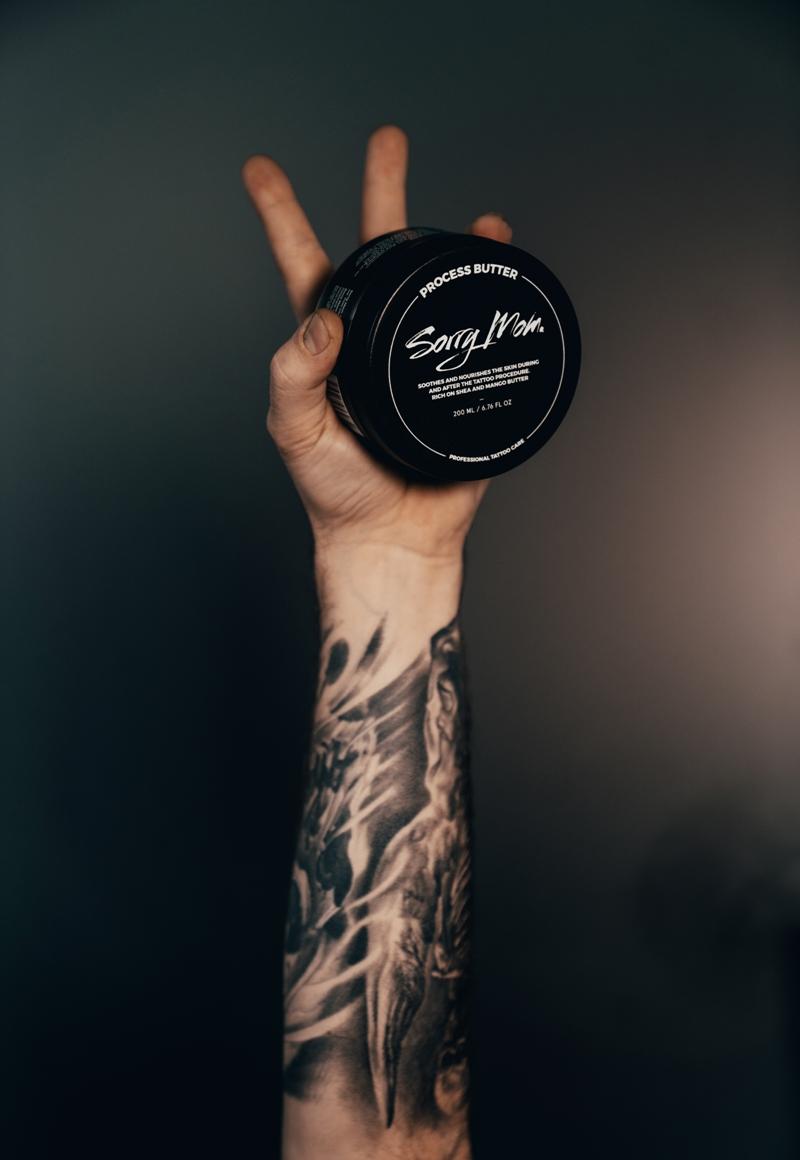 Tattoo Butter | Sorry Mom - Proper Tattoo Care