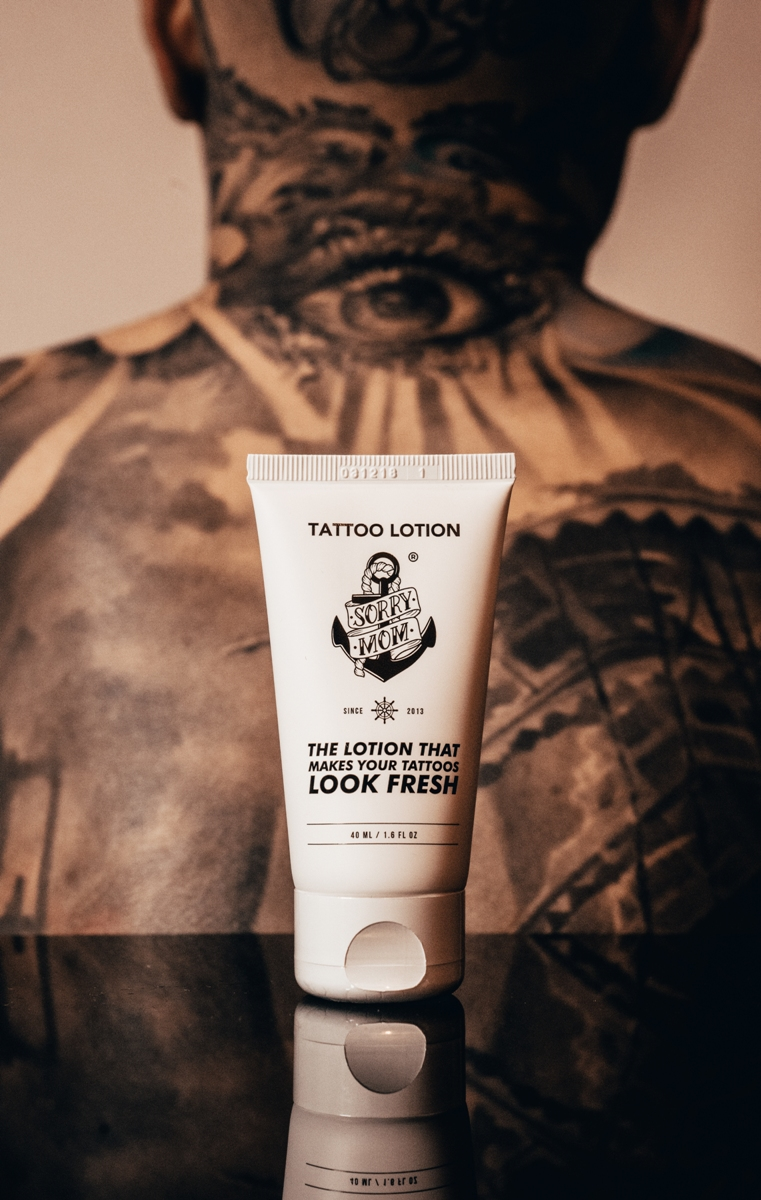 Lotiune intretinere tatuaj 40ml | Sorry Mom Romania - Proper Tattoo Care